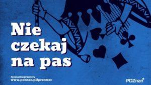 nie czekaj na pas fot. ump 300x169 - Poznań: Kampania przeciwko przemocy domowej