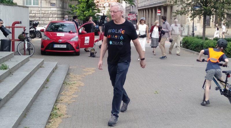Jacek Jaśkowiak na obchodach 4 czerwca