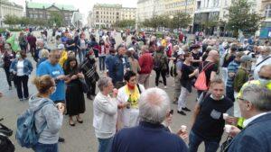 obchody 4 czerwca 3 300x169 - Poznań: Toast dla Wolności - na placu Wolności