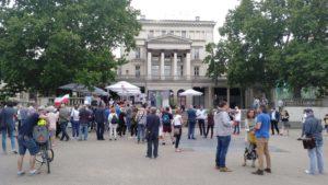 obchody 4 czerwca 8 300x169 - Poznań: Toast dla Wolności - na placu Wolności