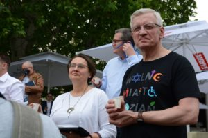 obchody 4 czerwca fot. k. adamska 8 300x200 - Poznań: Toast dla Wolności - na placu Wolności