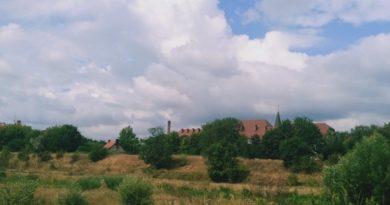 Ostrów Tumski od strony Zagórza