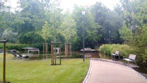 park wodziczki 3 300x169 - Poznań: Park Wodziczki znowu pod wodą