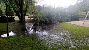 park wodziczki 4 300x169 - Poznań: Park Wodziczki znowu pod wodą