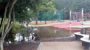 park wodziczki 6 300x169 - Poznań: Park Wodziczki znowu pod wodą