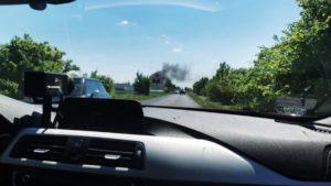 pozar fot. policja 300x169 - Nowy Tomyśl: Policjanci uratowali ludzi z pożaru