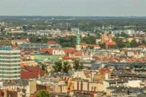 poznan z poziomu dachu. ataner ul. towarowa 39 fot. slawek wachala 11 300x200 - Poznań: Jeden z najwyższych budynków w Poznaniu. Jaki jest z niego widok?