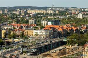 poznan z poziomu dachu. ataner ul. towarowa 39 fot. slawek wachala 7 300x200 - Poznań: Jeden z najwyższych budynków w Poznaniu. Jaki jest z niego widok?