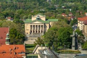 poznan z poziomu dachu. ataner ul. towarowa 39 fot. slawek wachala 9 300x200 - Poznań: Jeden z najwyższych budynków w Poznaniu. Jaki jest z niego widok?