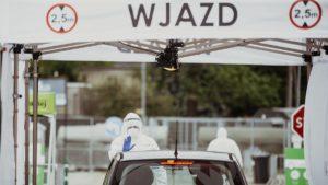 punkt test go fot. dwot2 300x169 - Poznań: Punkt poboru wymazów na koronawirusa na Bułgarskiej