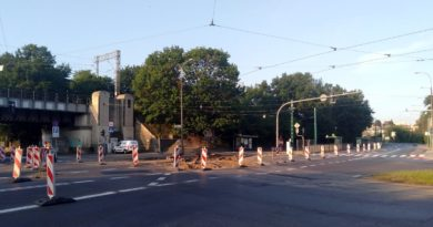 remont pulaskiego 390x205 - Poznań: Wylot ul. Cichej w Pułaskiego zamknięty!