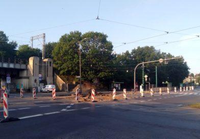 Poznań: Wylot ul. Cichej w Pułaskiego zamknięty!