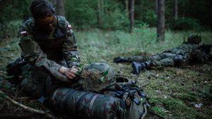 sonda 5 fot. 12wbot 300x169 - Wielkopolska: Terytorialsi walczą o stopnie podoficerskie