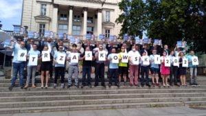 sztab wyborczy rafala trzaskowskiego 1 300x169 - Poznań: Radość i wiara w zwycięstwo. Koalicja Obywatelska podsumowała kampanię wyborczą
