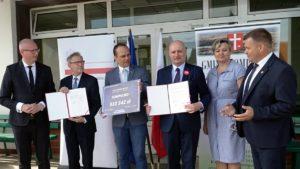 wojewoda w sompolnie i golinie fot. wuw2 300x169 - Konin: Nowe drogi w Sompolnie i Golinie. I nowe połączenia