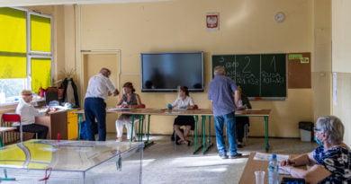 Wybory 2020 głosowanie lokal wyborczy fot. Sławek Wąchała