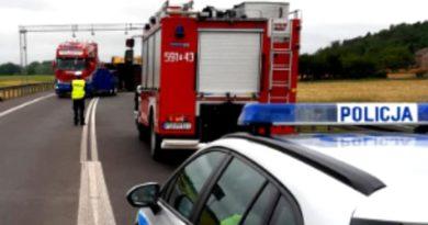 wypadek 3 szamotuly fot. policja 390x205 - Poznań: Wypadek w Swadzimiu. Korki i utrudnienia w ruchu