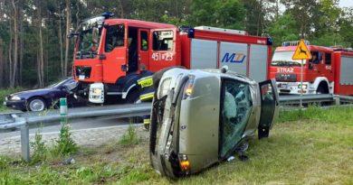 wypadek Jarocin 3 fot. policja