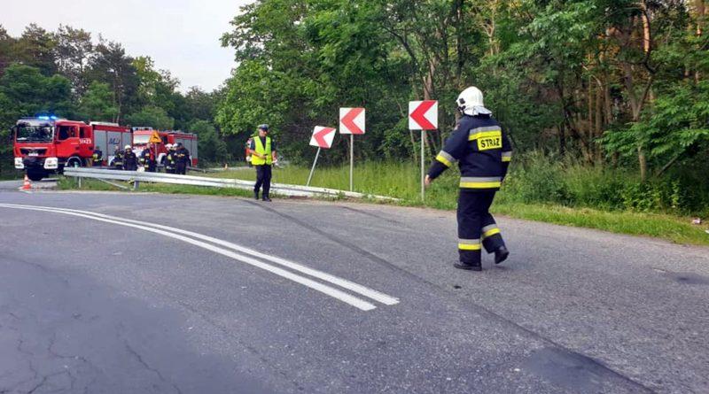 wypadek jarocin fot. policja 800x445 - Krotoszyn: Tragiczny wypadek. Nie żyje motocyklista