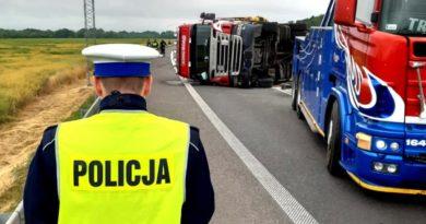wypadek zdjęcie ilustracyjne fot. policja
