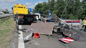a2 fot. policja2 300x169 - Września: Wypadek na A2 w stronę Poznania. Trasa zablokowana!