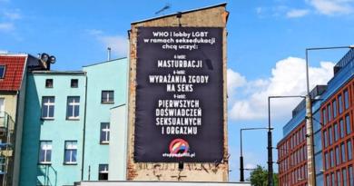 banner fundacji Pro fot. Grupa Stonewall