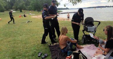 bezpieczeństwo nad wodą fot. policja