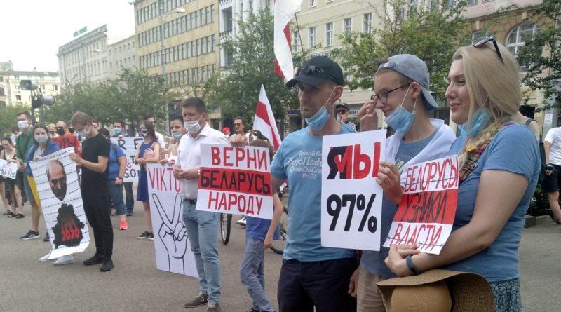 bialorus demonstracja2 800x445 - Poznań: Wolność dla Białorusi