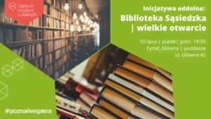 Biblioteka Sąsiedzka fot. SMAK