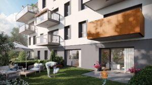 cerisier residence ogrod fot. art. spon. 300x169 - Trzy razy Bouygues Immobilier w Poznaniu
