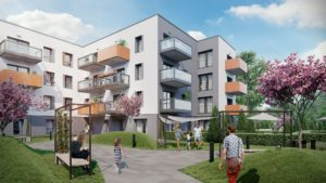 cerisier residence patio fot. art. spon. 300x169 - Trzy razy Bouygues Immobilier w Poznaniu