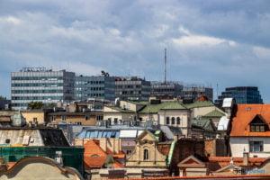 dachy starego miasta wielka fot. slawek wachala 0828 300x200 - Poznań: Na dachu ulicy Wielkiej