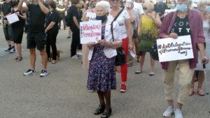 Poznań zaprotestował przeciwko przemocy domowej