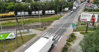 Grunwaldzka przejazd kolejowy 2 fot. UMP