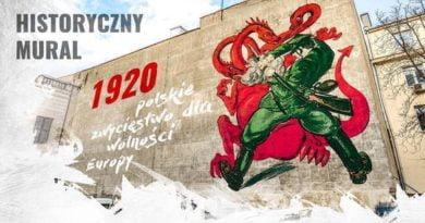 historyczny mural fot. MON