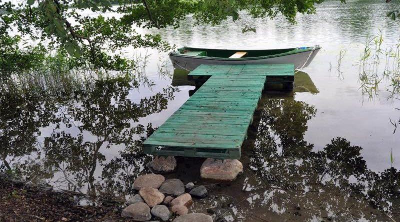 jezioro Ostrowickie fot. policja