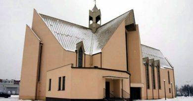 kościół św. Faustyny fot. Salezjanie