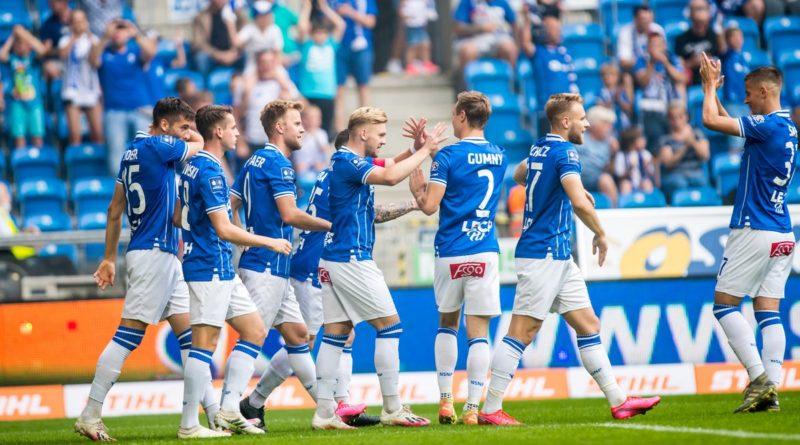 lech jagiellonia fot. p. szyszka lech poznan5 800x445 - Lech Poznań - Standard Liege: świetny mecz lechitów!