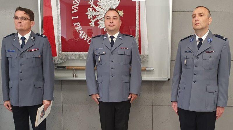 Leszno - nowi zastępcy komendanta policji fot. policja