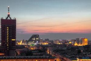 miasto poznan fot. slawek wachala 19 300x200 - Poznań: Widok z dachów wieżowców na Piekarach