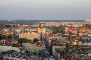 miasto poznan fot. slawek wachala 2 300x200 - Poznań: Widok z dachów wieżowców na Piekarach
