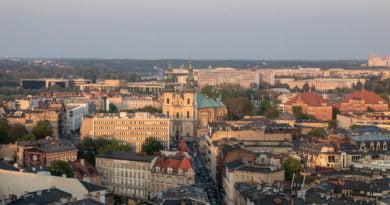 Poznań widziany z góry, z ulicy Piekary fot. Sławek Wąchała