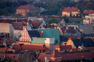 miasto poznan fot. slawek wachala 6 300x200 - Poznań: Widok z dachów wieżowców na Piekarach