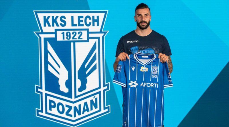 Mikael Ishak fot Przemysław Szyszka Lech Poznań