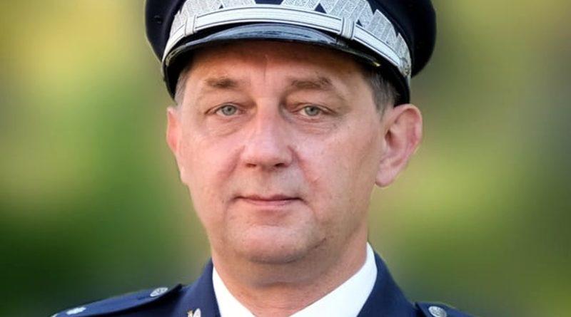 nadinspektor Piotr Mąka fot, policja