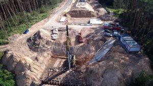 obwodnica wronek fot. umww3 300x169 - Wronki: Budowa obwodnicy - zaczęły się prace przy moście!