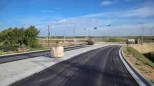 obwodnica wrzesnia fot. um wrzesnia2 300x169 - Września: Na obwodnicy jest już nawierzchni asfaltowa!