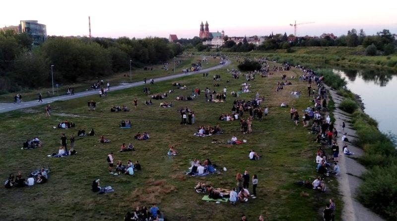 Odbijamy Poznań, grill nad Wartą