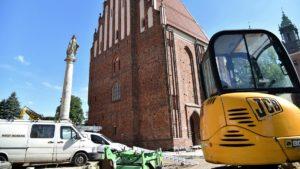 palatium ostrow tumski projekt fot. ump2 300x169 - Poznań: Prace przy palatium Mieszka I i Dobrawy idą pełną parą
