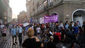 parada ko fot. k. adamska5 300x169 - Poznań: Burza przed ciszą, czyli przemarsz dla Rafała Trzaskowskiego